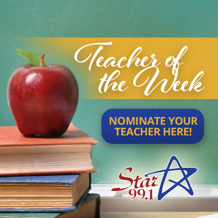 Nominate Your Teacher for Teacher of the Week!